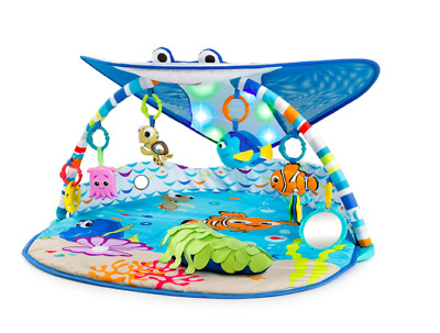Tummy Time Mat Disney Play Baby Finding Nemo Toys Toddler Ocean Music Activity
