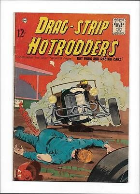 Drag-Strip Hotrodders #1 [1963 Vg+]