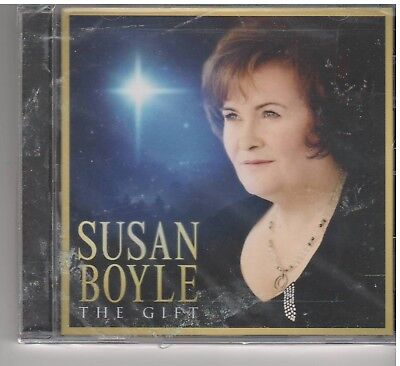 GIFT Susan Boyle  (CD, 2010, BMG) NEW