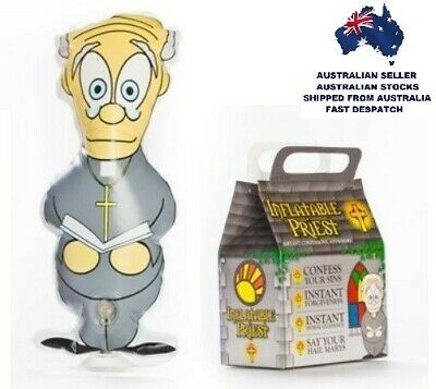 """""""18 x HUMOROUS NOVELTY INFLATABLE PRIESTS"""" For That Instant Confession!"""