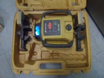 Topcon RL-H4C Self Leveling Slope Rotary Laser Level w/ 2 of LS-80L Detectors