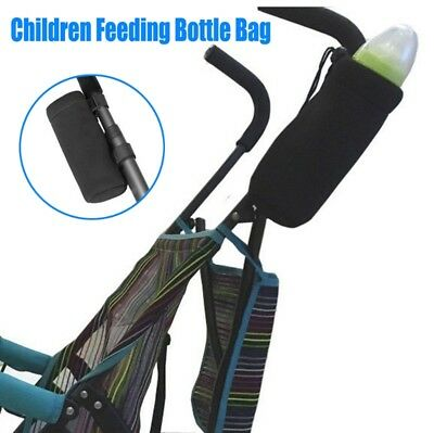 Baby Thermal Feeding Insulation Bottle Warmers Tote Hang Stroller Storage Bag