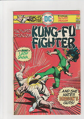 Kung Fu Fighter  #5  F   DC comic  1975