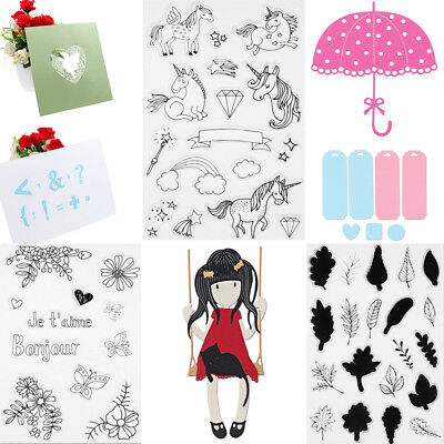 Girl Series Metal Cutting Dies Stencil Scrapbook Paper Card Craft Embossing DIY