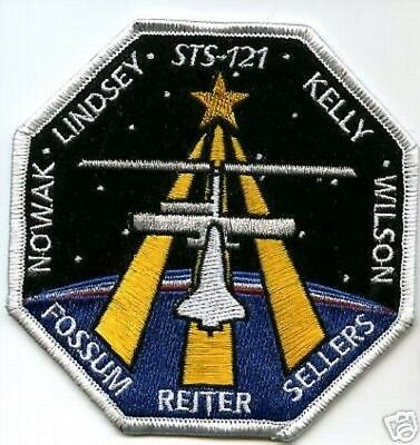 SP-142 NASA STS-107 Space Shuttle Discovery Mission To ISS Patch