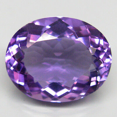 14.26ct.DISTINGUISHED GEM! 100%NATURAL RICH PURPLE AMETHYST (URUGUAY) AAA