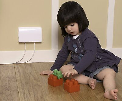 Clippasafe Socket Electric Plug Protector Baby Proof Child Safety Cover Double