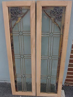 Pair of  mission style antique side lights