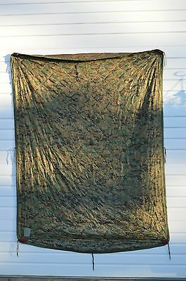 USGI Wet Weather Poncho Liner Woodland Marpat Coyote Brown Reversible Woobie