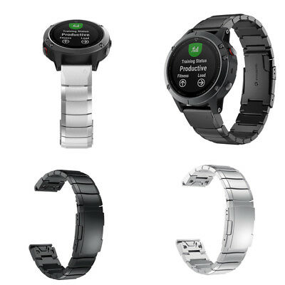 For Garmin Fenix 5S Watch Stainless Steel Bracelet Quick Replacement Band Strap