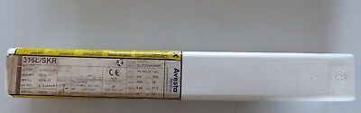 316L Avesta Stainless Steel Welding Electrodes, 4 x 450mm - Sold Per KG