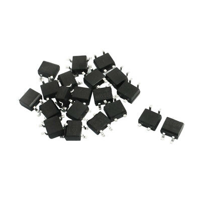 SS 20pcs 4Pins Bridge Diode Rectifier MB6S 0.5A 500mA 600V