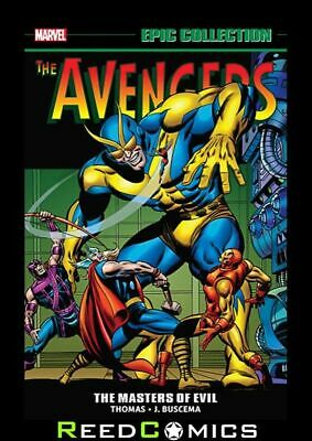 AVENGERS EPIC COLLECTION MASTERS OF EVIL GRAPHIC NOVEL (496 Pages) New Paperback