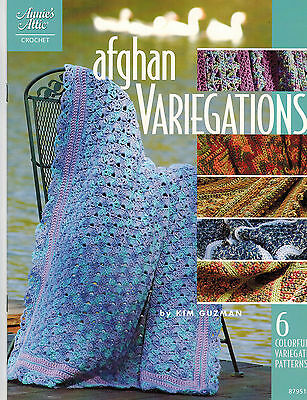 Crochet: Afghan Variegations - 6 Colorful Variegated Patterns - Annie's Attic
