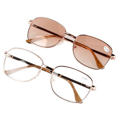 Fashion Clear Reading Glasses Bifocal Reader Eyeglass +1.00 to +4.0