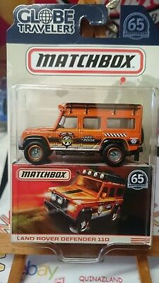 Matchbox Clobe Travelers Land Rover Defender 110  (N8)