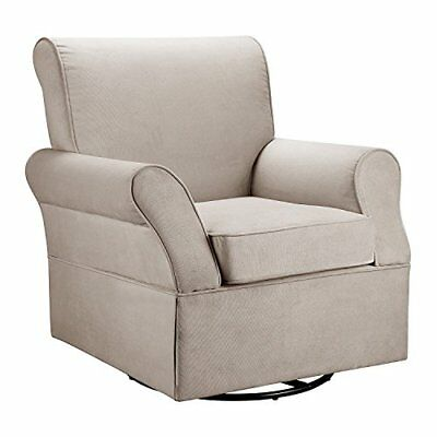 Baby Relax Swivel Glider and Ottoman Comet Doe Rockers Gliders Nursery Furniture