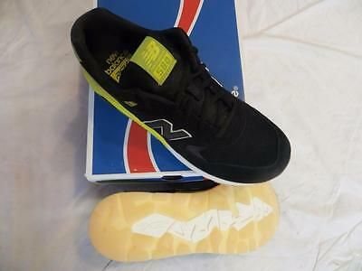 New Balance 580 Gid Solarized Pack Revlite Men's Sz 10 Black/yellow Ret$120 Nib