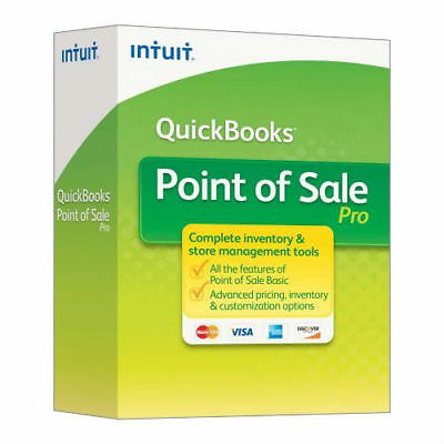 Intuit QuickBooks Point of Sale Pro 2013 V11 3-User New unregistered download