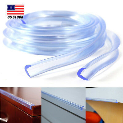 1M Baby Safety Table Desk Edge Corner Protector Cushion Guard Strip Soft Bumper