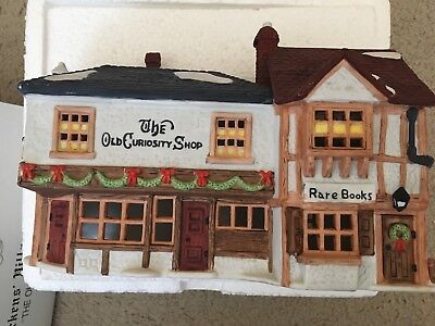 Dept 56 Dicken's Heritage Collection Village The Old Curiosty Shop 1987 W/box