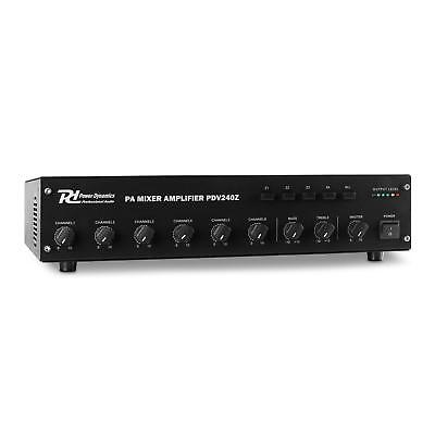 Amplificatore Finale Audio Power Dynamics Professionale 6 Canali 240W Rms