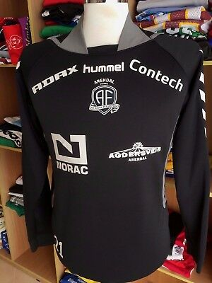 ISSUE SWEATSHIRT TOP Shirt Arendal Fotball (M)#21 Hummel Norwegen Norway Trikot