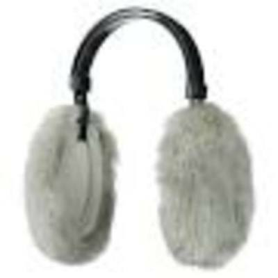Thinsulate Ear Muffs Light Grey W20S35A - NEW