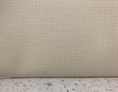 18ct - 18 count Birch Ivory Aida Cloth - Assorted precut sizes only