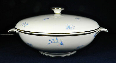 "H&c Heinrich, Bavarian ""pattern #76323"" 8 1/2"" ""covered Vegetable Bowl"