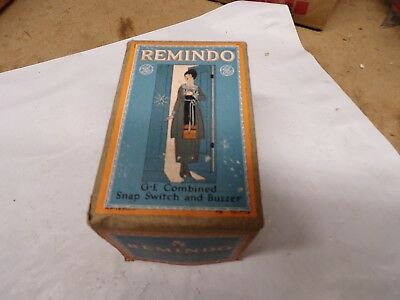 NOS Remindo GE Light Snap Switch & Buzzer in Box