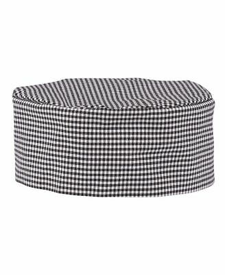 JB's wear Poly Cotton Chef's Cap with elastic strap on Back for Stretch Kitchen