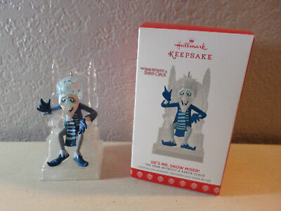 Hallmark 2017 He's Mr. Snow Miser! A Year Without Santa Claus Light Up Ornament