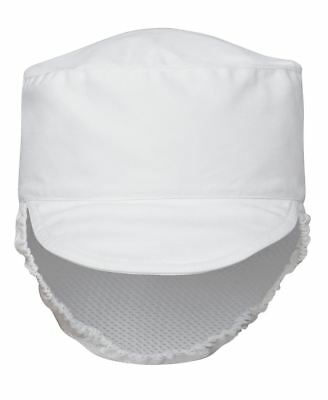 JB's wear Dust Prep Hat Cap with Peak Cap & Fitted Mesh Hair Cover Elastic back