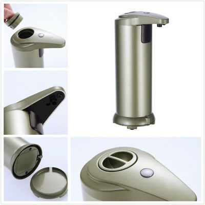 Kitchen Bathroom Handsfree Automatic IR Sensor Touchless Soap Liquid Dispenser
