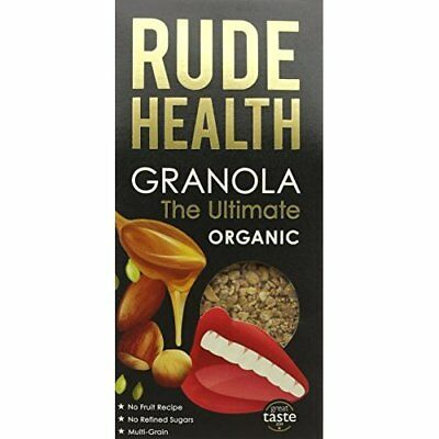 "Rude Health ""The Granola"" Organic Granola 500 g (Pack of 4)"