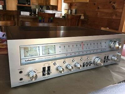 Vintage Lafayette LR-9090 Stereo Receiver 90 Watts per channel - Mint condition!