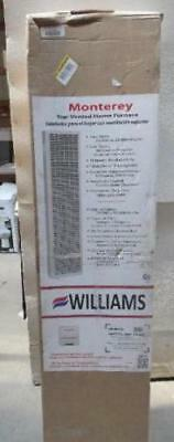 Williams Monterey 35,000 BTU Top Vented Wall Furnace Natural/Propane lp