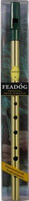 Feadog FW01 Brass D Whistle Pack