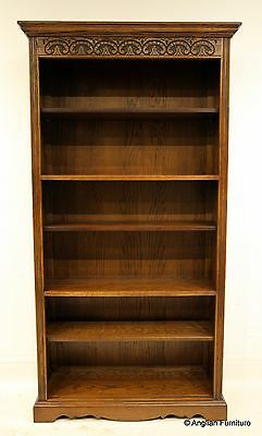 Old Charm Furniture Bookcase Light Oak FREE Nationwide Delivery