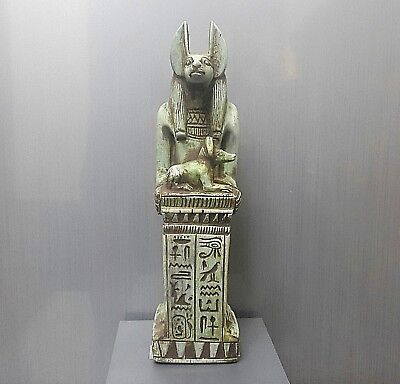 Rare Antique Ancient Egyptian  ANUBIS (1500-1000 BC)