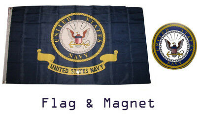 3X5 US NAVY Coat of Arms Seal Crest Flag 3'x5' Banner fade