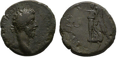 Ancient Rome 177-192 AD MACEDON THESSALONICA COMMODUS NIKE WREATH Large AE
