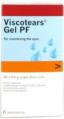 3 x Viscotears Gel PF 0.6ml x 30