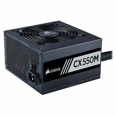 Corsair CXM Series Modular CX550M 550W 80 Plus Bronze Certified Power Supply PSU
