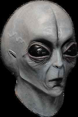 BRAND NEW Roswell ET Martian UFO DELUXE ADULT LATEX AREA 51 ALIEN MASK