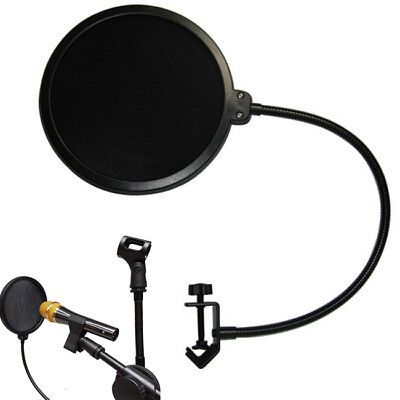 1 PC Studio Double Layer Microphone Wind Screen POP Filter Shield For Recording
