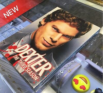 * NEW * Dexter - The Complete Third Season (DVD, 2009) * SEALED * FREE SHIPPING