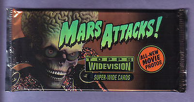 1996 Topps MARS ATTACKS!  Pack Fresh from Box! 1 pack