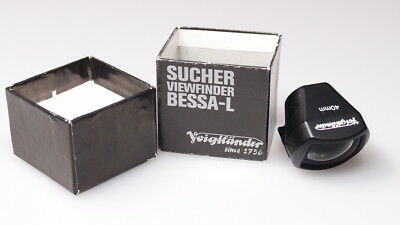 VOIGTLANDER BESSA L VIEW FINDER FOR 40mm MINT W/BOX